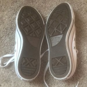 Converse Shoes - white low top converse brand new!